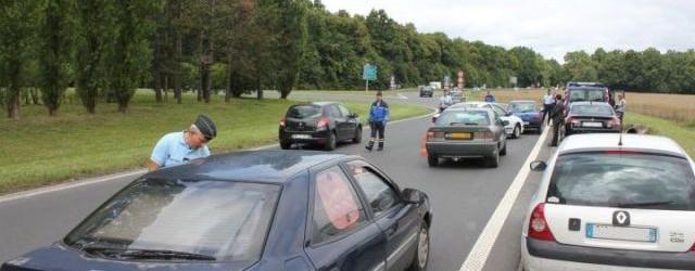 430 gendarmes et 70 policiers mobilisés pour un contrôle routier