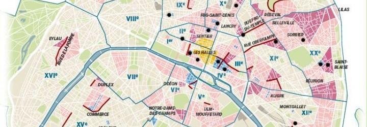 Paris : un tiers des rues limitées à 20 ou 30 km/h dès septembre