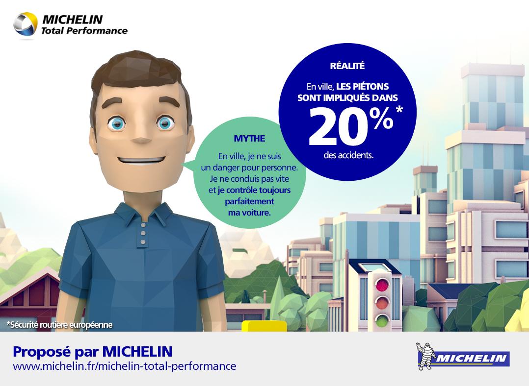 Rouler à faible allure ne sert à rien selon Michelin, seul le freinage compte