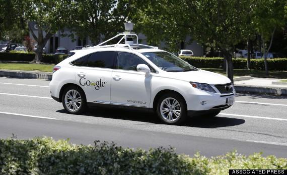 Les Googles Cars programmées pour dépasser les limitations de vitesse