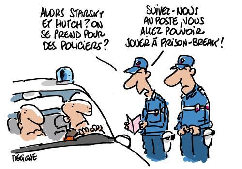 Deux faux policiers font la morale à un automobiliste au Plan-de-la-Tour