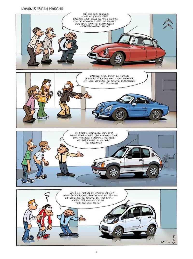 L'image du jour : l'évolution de l'automobile depuis 70 ans