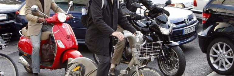 Les scootéristes ont une conduite plus dangereuse que les motards