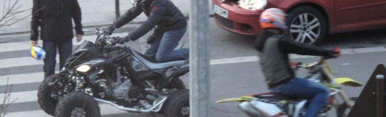 Rodéos urbains : « forces de l'ordre impuissantes » pour ceux roulant à 100 km/h dans les zones 30, sans plaque, sur les trottoirs…