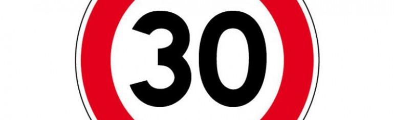 Agglomération de Grenoble : 43 villes bridées à 30 km/h