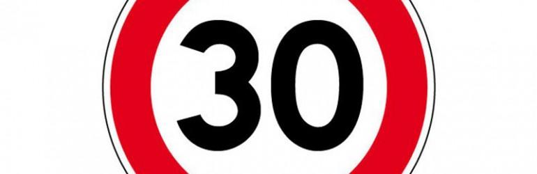 Rouen : la limitation à 30 km/h n'était pas signalée