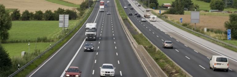 66% des autoroutes allemandes ont une vitesse libre (sans limite)
