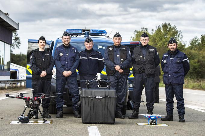 Rentabilité routière: La gendarmerie s'équipe d'une flotte de drones