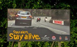 circuler sur l'île de Man sans limite de vitesse