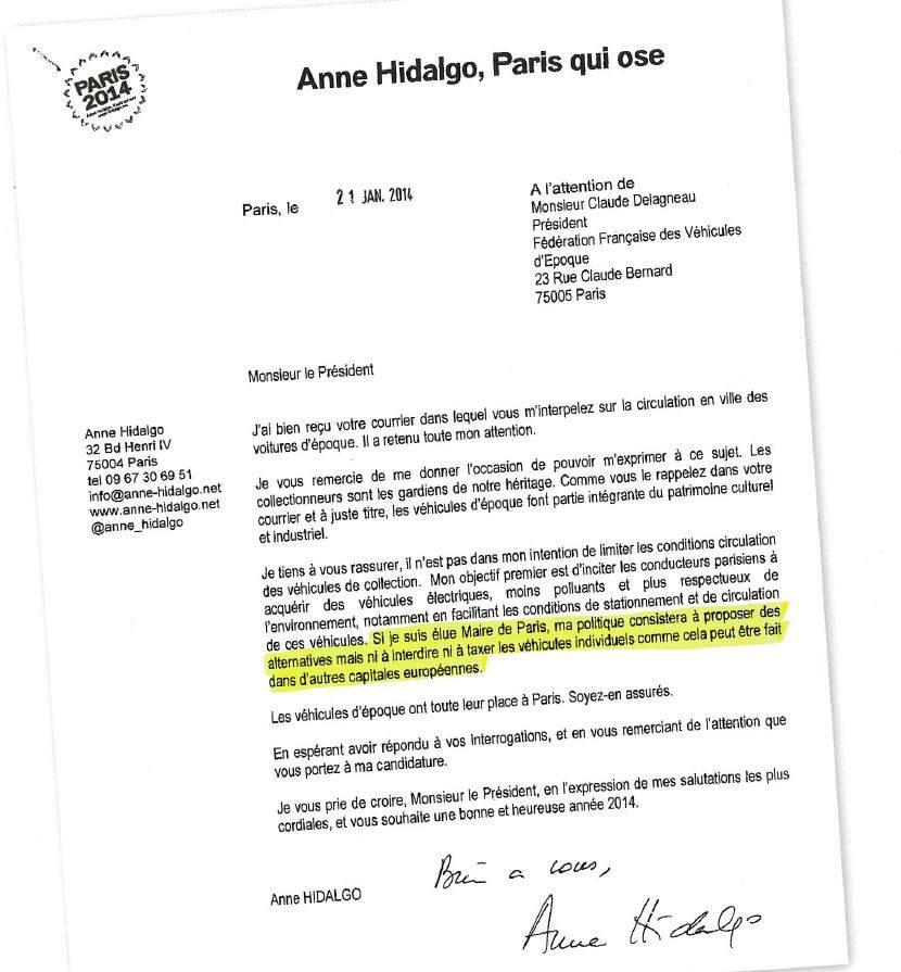 Anne Hidalgo a menti pendant sa campagne