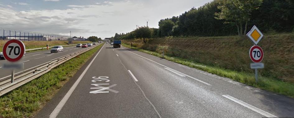 Essai non concluant : la rocade de Rennes repasse de 70 à 90 km/h