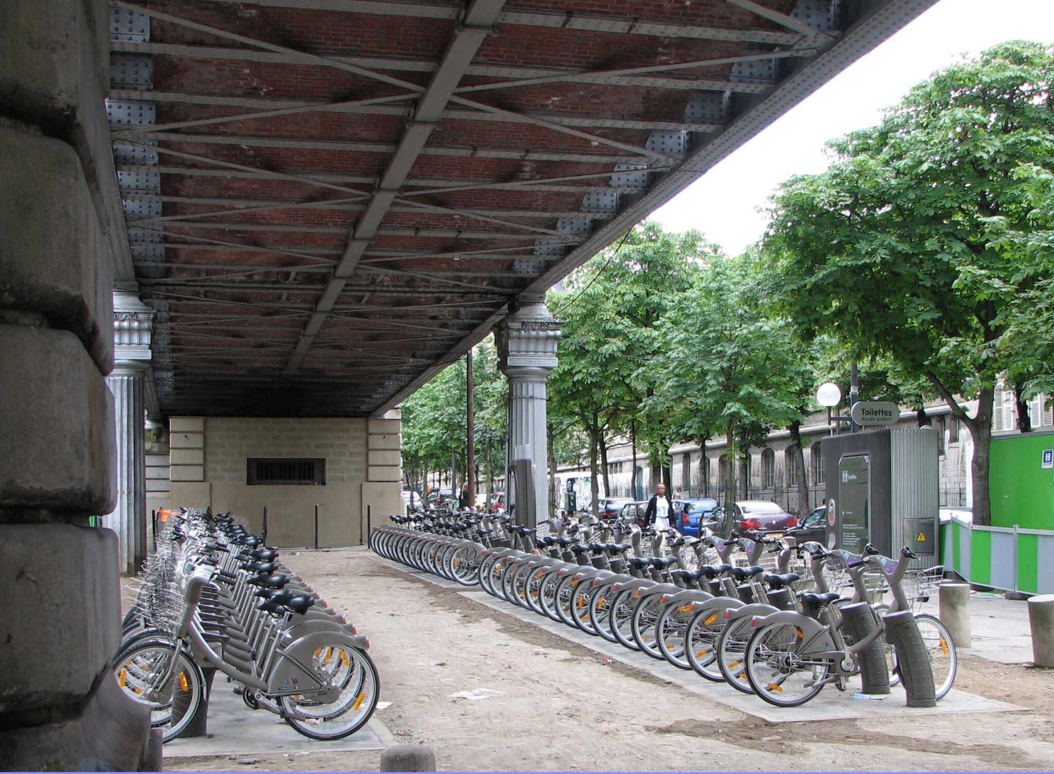 Bilan du Vélib après 10 ans : + de 2400 vélibs vandalisés chaque année