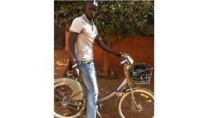 Un vélib retrouvé à Bamako