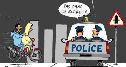 Les policiers doivent faire du zèle sur la route et être souples dans les cités