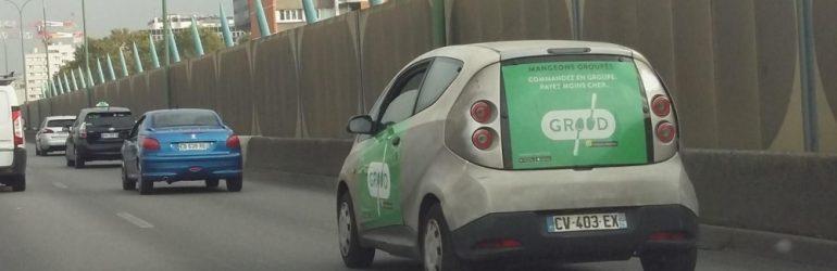 Dérogation pour Autolib : la publicité sur les voitures mise en place malgré l'interdiction