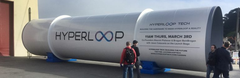 150 km en 12 minutes ? Bientôt possible avec l'Hyperloop One