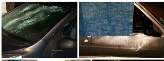 Insécurité : voiture renversées, vitres brisées… une rue ravagée à Rouen