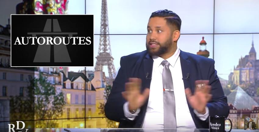 Les autoroutes françaises (vidéo de Kevin Razy)