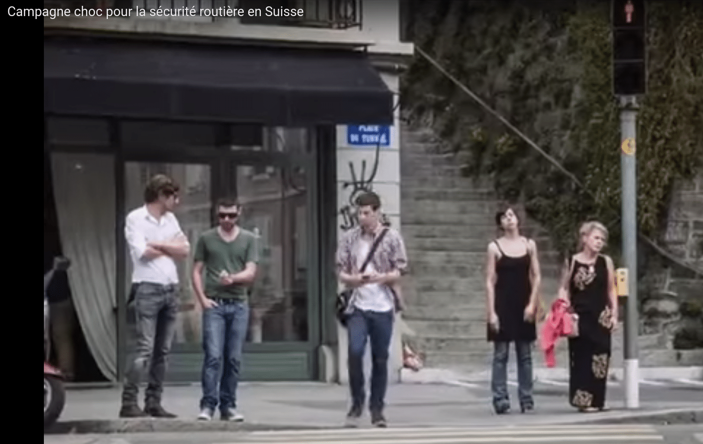 Les spots pertinents de la sécurité routière suisse