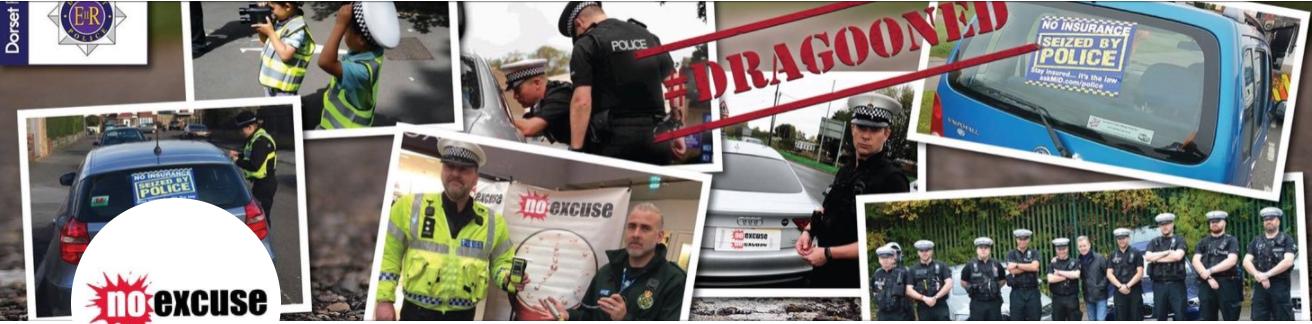 UK : la police indique l'emplacement des contrôles 1 mois en avance (campagne #NoExcuse)