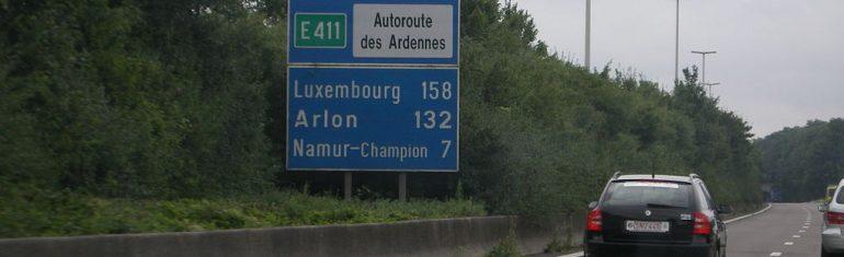 Belgique : la bande d'arrêt d'urgence sera réservée au covoiturage sur la E411