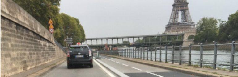 Insatisfaction chez des cyclistes : les pistes cyclables parisiennes ont été très mal pensées