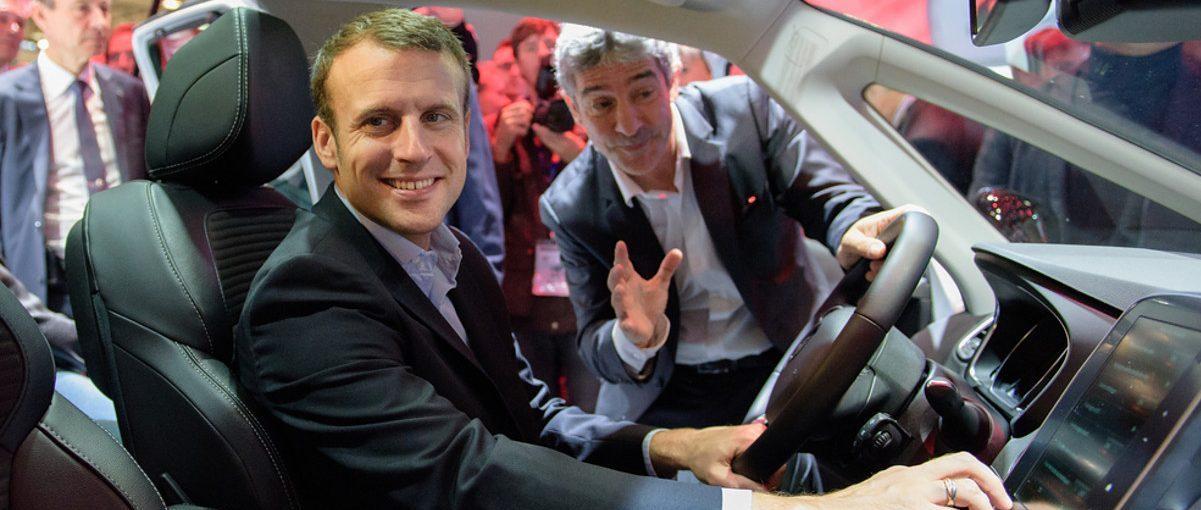 Chauffeur de Macron : excès de vitesse et délit de fuite au volant d'une voiture du parc de la présidence