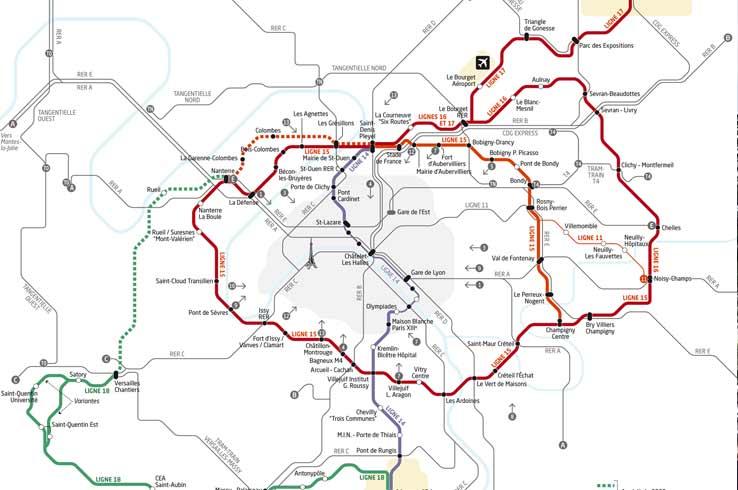 Grand Paris Express : la ligne 17 du projet pourrait être abandonnée