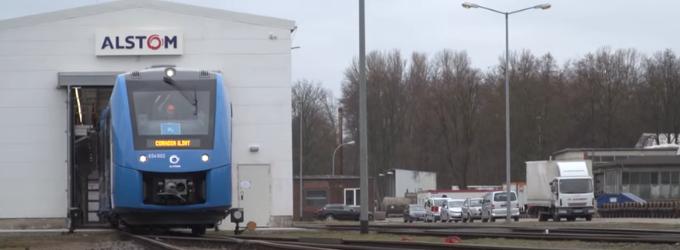 Alstom fabrique des trains à l'hydrogène pour remplacer les locomotives diesel (pour 2021)
