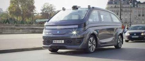 Le premier taxi autonome et électrique de Paris (Autonom Cab)