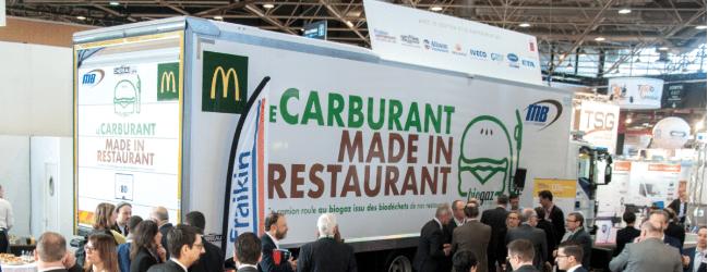 Le biogaz issu des déchets des fast-foods McDonald's, carburant pour un nouveau véhicule
