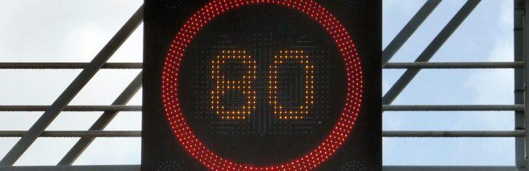 Limitations de vitesse sur route : tour d'Europe !
