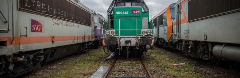 L'échec du fret ferroviaire en France : le plus grand cimetière de locomotives de France