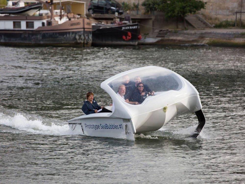 À cause de problèmes administratifs, les «Sea Bubbles» préfèrent s'installer en Suisse et non à Paris