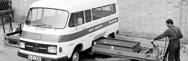 Il y a 45 ans, le premier utilitaire électrique de Mercedes-Benz