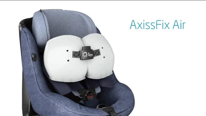 Voici le 1er siège auto avec airbags intégrés !