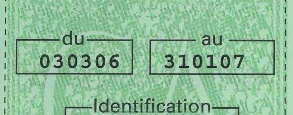 Non, on ne peut pas être verbalisé si on n'a pas signé la carte verte d'assurance