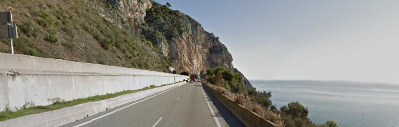 L'A8 passe de 110 à 90, puis à 70, un radar de chantier est installé à 1 km de la frontière franco-italienne
