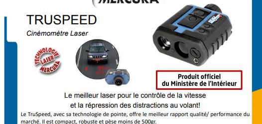Radars de poche : PV à la volée, « sa capacité de loupe est redoutable » (coût : seulement 3 800 euros, 1000 exemplaires commandés)