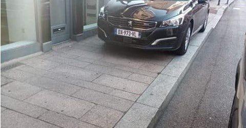 Un radar mobile garé sur un trottoir ? (Firminy, 42)