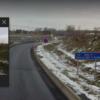 Exemple de radar piège : sur l'A10, la limitation à 110 km/h n'était pas indiquée lorsqu'on quittait l'air d'autoroute (4 voies, limitée à 130 km/h avant l'aire)