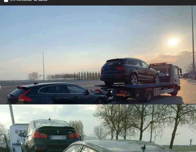 Quand la Gendarmerie de la Seine-et-Marne ne connait pas les règles de transport de véhicules confisqués